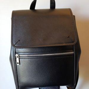 Zara faux leather backpack